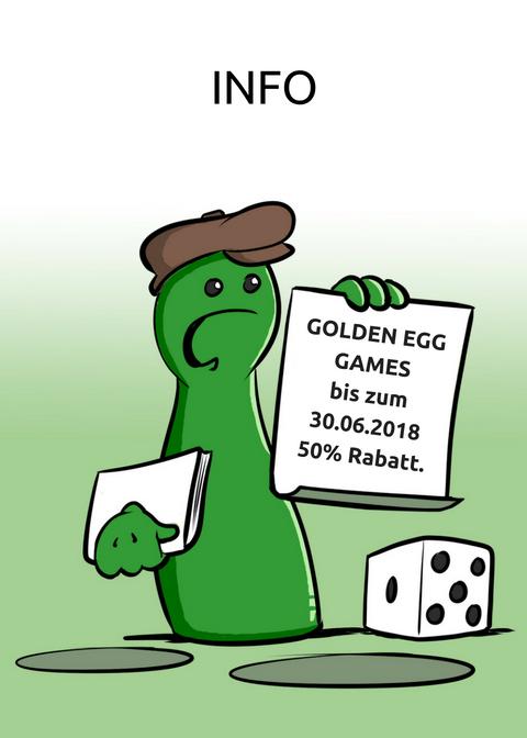 NMITGLIEDSCHAFT GOLDEN EGG GAMES