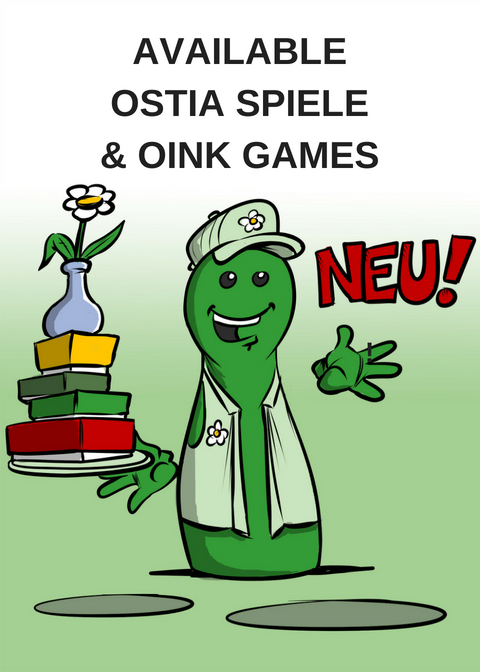 NEW GAMES OF OINK GAMES -TROIKA, AND OSTIA SPIELE, RIGA