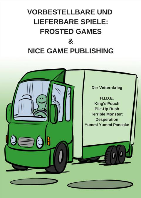 NEUES VORBESTELLBARES SPIEL VON FROSTED GAMES UND SOFORT BESTELLBARE SPIELE VON NICE GAME PUBLISHING