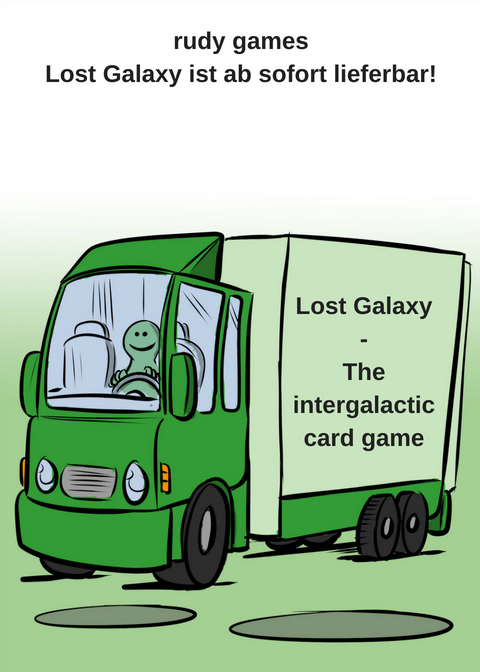LOST GALAXY - THE INTERGALACTIC CARD GAME VON RUDY GAME IST AB SOFORT LIEFERBAR