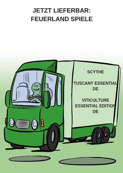 SCYTHE, TUSCANY ESSENTIAL EDITION - DE, VITICULTURE ESSENTIAL EDITION - DE JETZT LIEFERBAR
