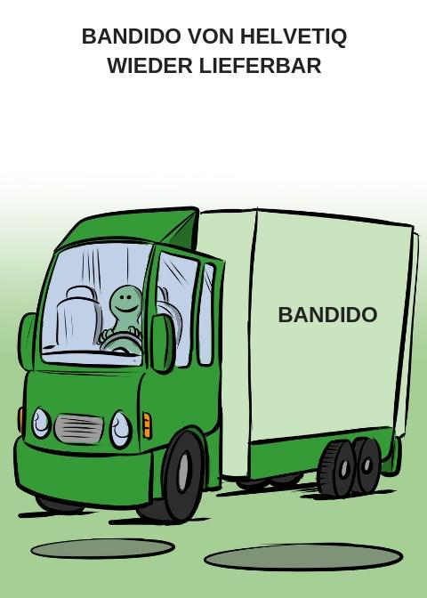 BANDIDO VON HELVETIQ WIEDER LIEFERBAR