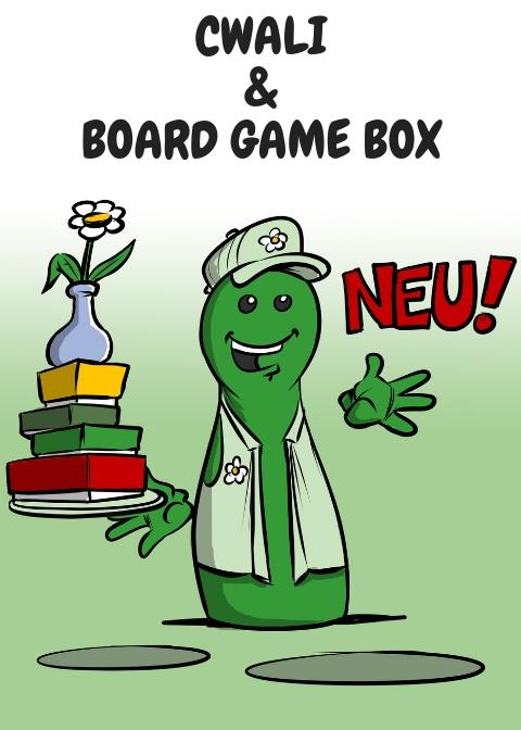 NEUE CWALI UND BOARD GAME BOX SPIELE