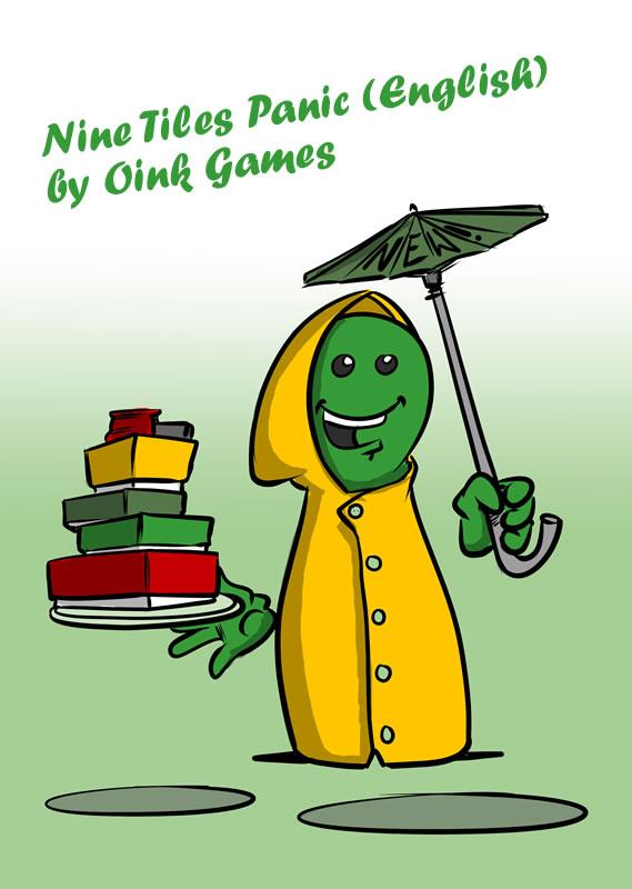 NINE TILES PANIC (ENGLISH) by Oink Games