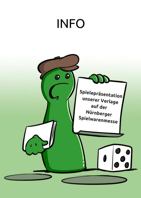 Spielepräsentationen unserer Verlage auf der Nürnberger Spielwarenmesse