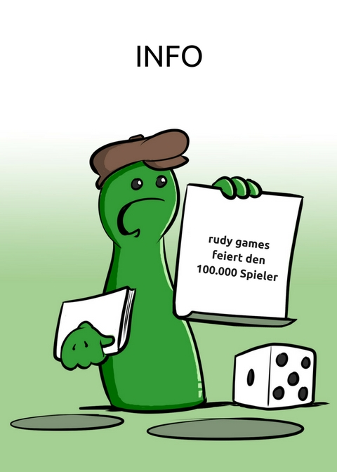 rudy games feiert den 100.000 Spieler