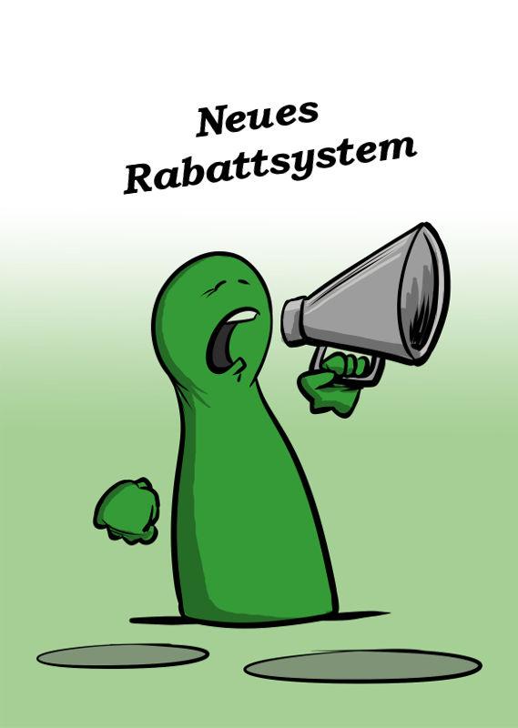 NEUES RABATTSYSTEM