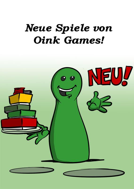 NEUE SPIELE VON OINK GAMES