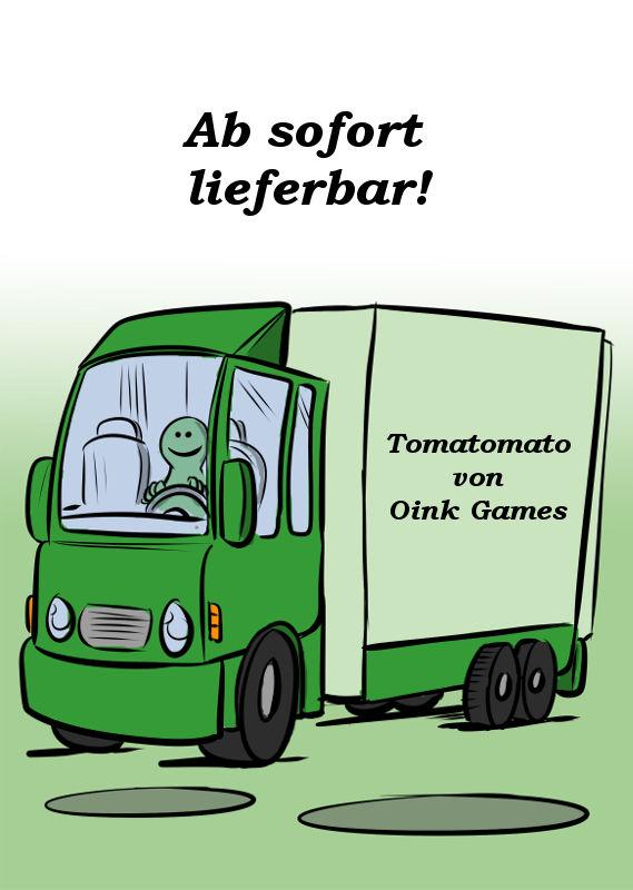 TOMATOMATO IST AB SOFORT LIEFERBAR