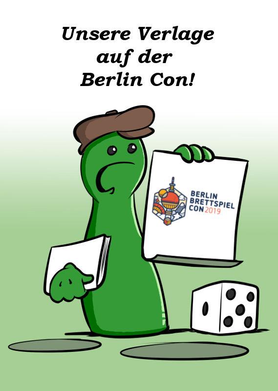 DIE VERLAGE DER SPIEL DIREKT EG AUF DER BERLIN CON