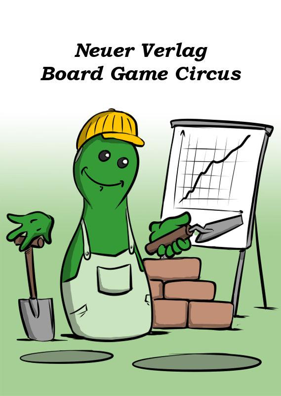 NEUER VERLAG BOARD GAME CIRCUS