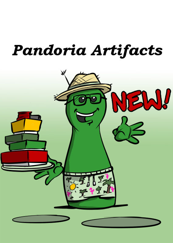 NEW: PANDORIA ARTIFACTS