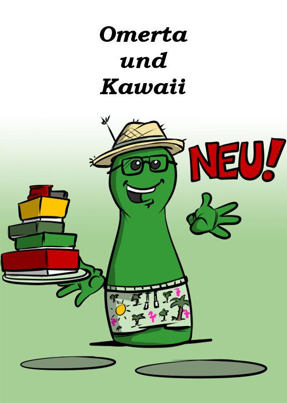 OMERTA UND KAWAII NEU VON HELVETIQ