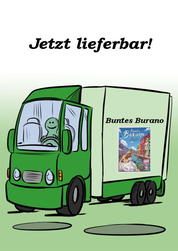 BUNTES BURANO IST JETZT LIEFERBAR