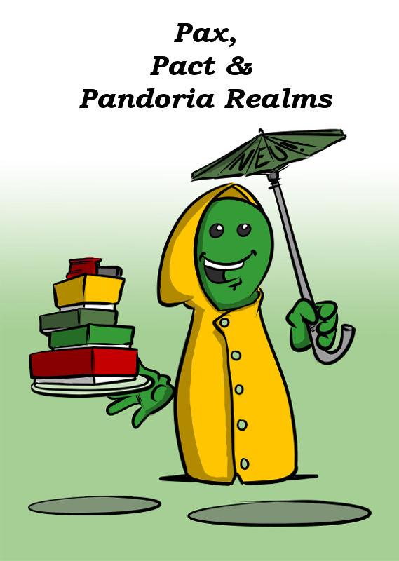 PAX, PACT & PANDORIA REALMS NEU VON IRONGAMES