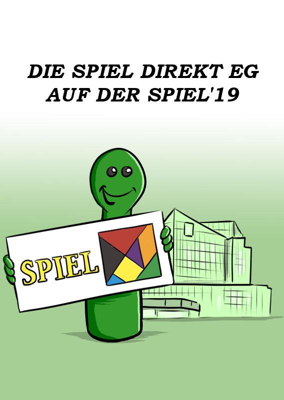 DIE SPIEL DIREKT EG AUF DER SPIEL'19