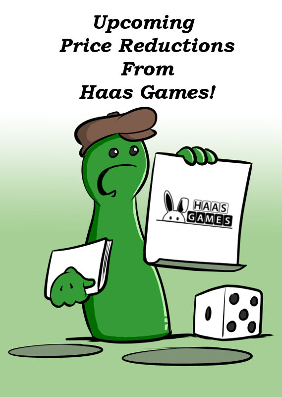 UPCOMING PRICE REDUCTION FOR FOOD FACTS AND GENIES FROM HAAS GAMES