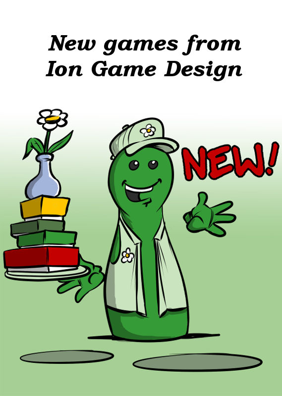 NEW GAMES FROM ION GAME DESIGN