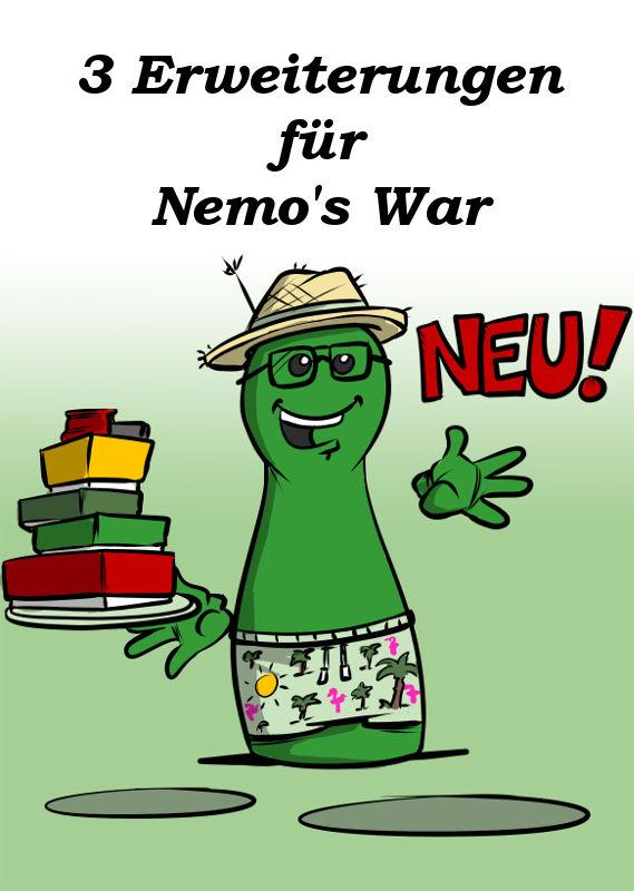 NEU: DREI ERWEITERUNGEN FÜR NEMO'S WAR