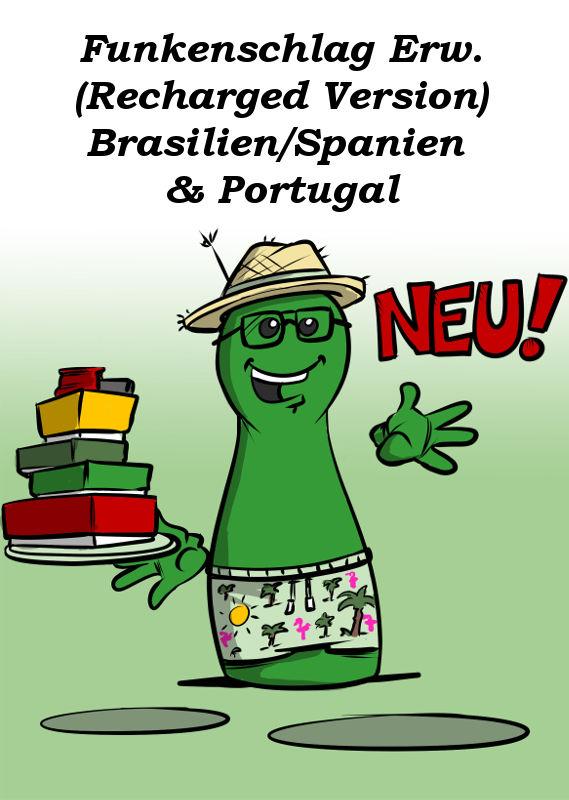 FUNKENSCHLAG BRASILIEN/SPANIEN & PORTUGAL AB SEPTEMBER IN DER RECHARGED VERSION