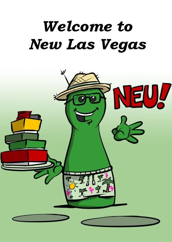 WELCOME TO NEW LAS VEGAS NEU VON BLUE COCKER