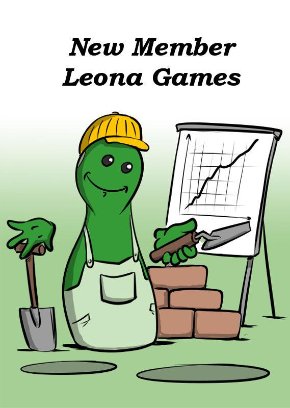 NEW MEMBER LEONA GAMES