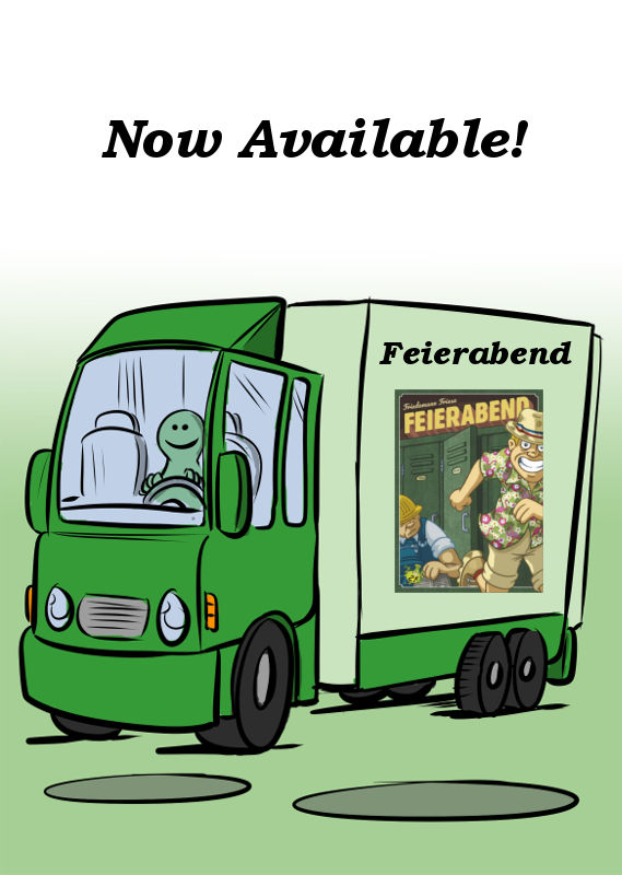 FEIERABEND FROM 2F-SPIELE IS NOW AVAILABLE