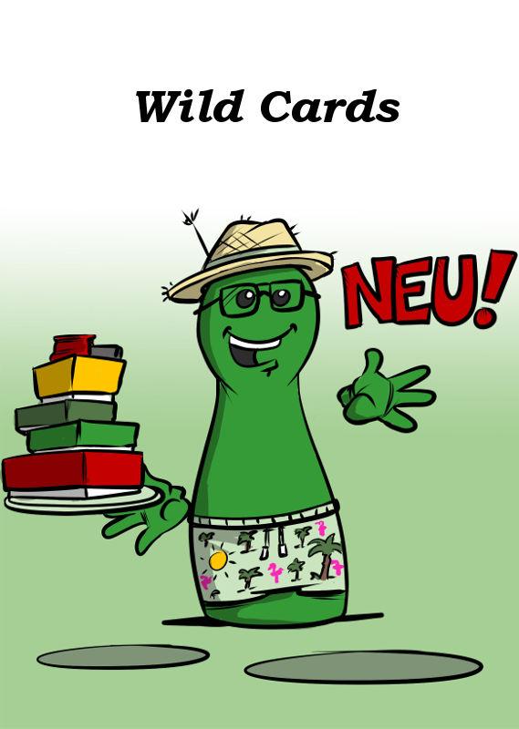WILD CARDS NEU VON BOARD GAME CIRCUS