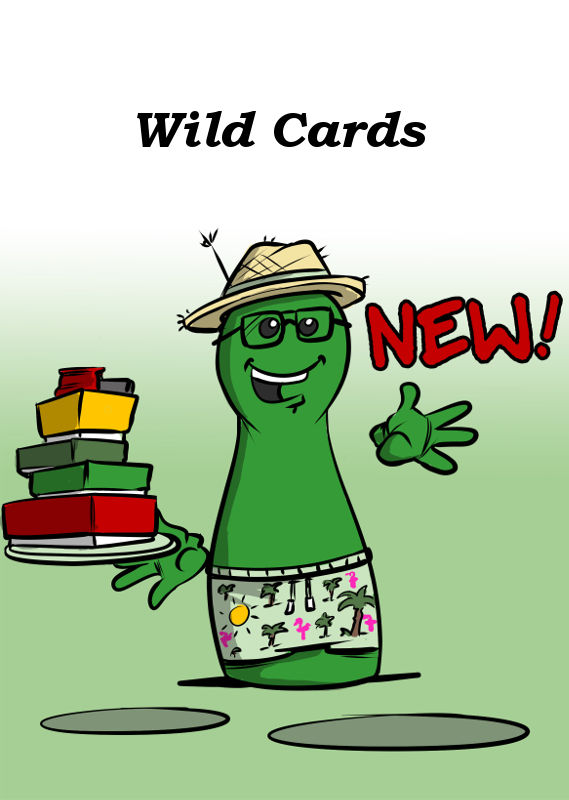 WILD CARDS IS NEW FROM BOARD GAME CIRCUS