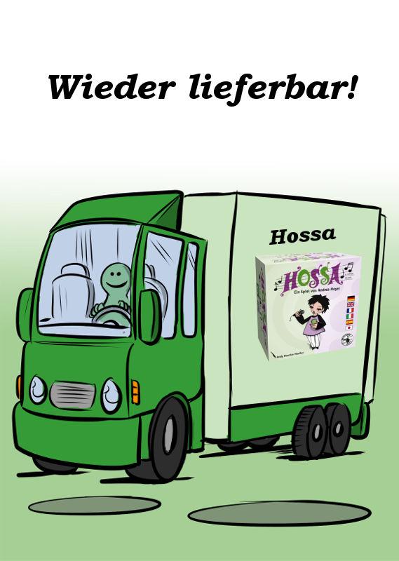 HOSSA IST WIEDER LIEFERBAR
