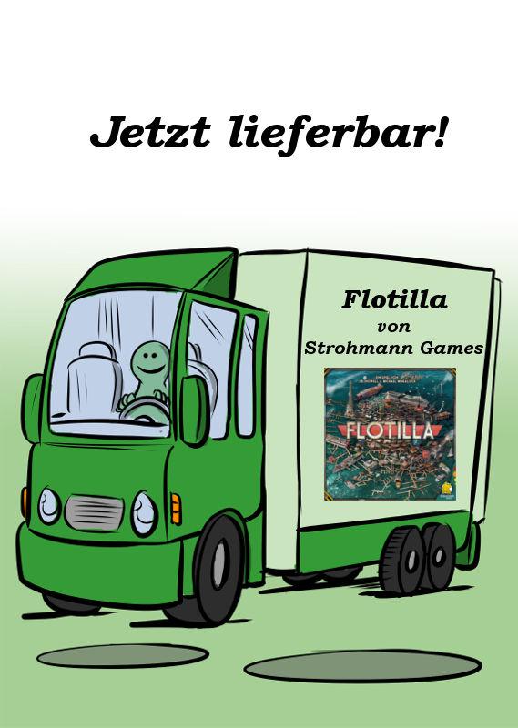 FLOTILLA VON STROHMANN GAMES IST JETZT LIEFERBAR