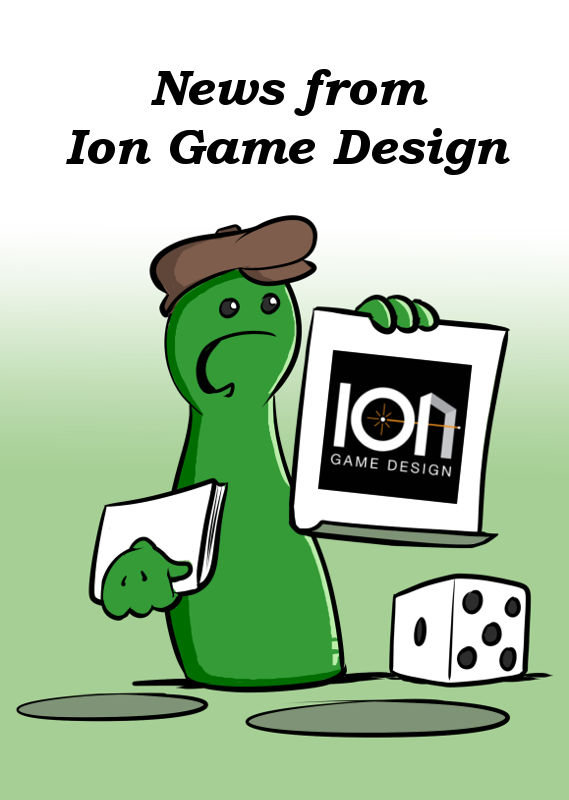 NEWS FROM ION GAME DESIGN