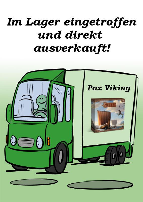PAX VIKING IST EINGETROFFEN UND DIREKT AUSVERKAUFT