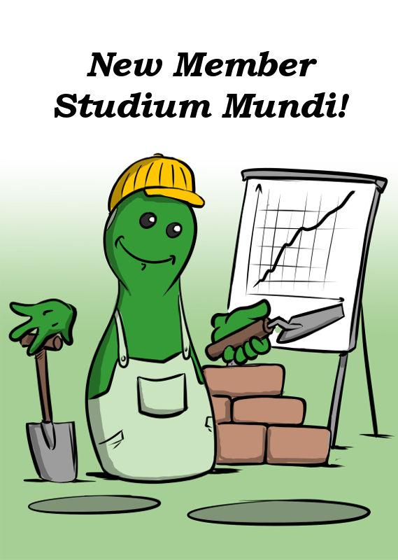 NEW MEMBER STUDIUM MUNDI