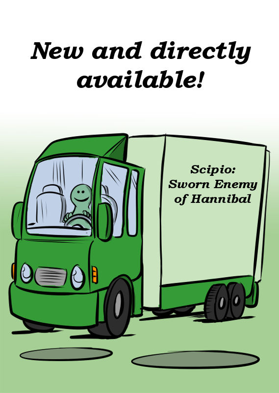 SCIPIO IS NEW AND DIRECTLY AVAILABLE