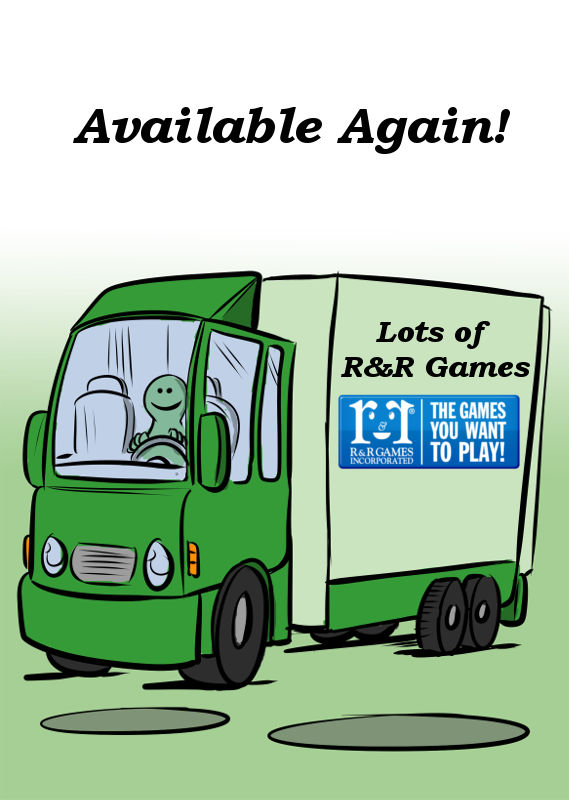 LOTS OF R&R GAMES ARE AVAILABLE AGAIN