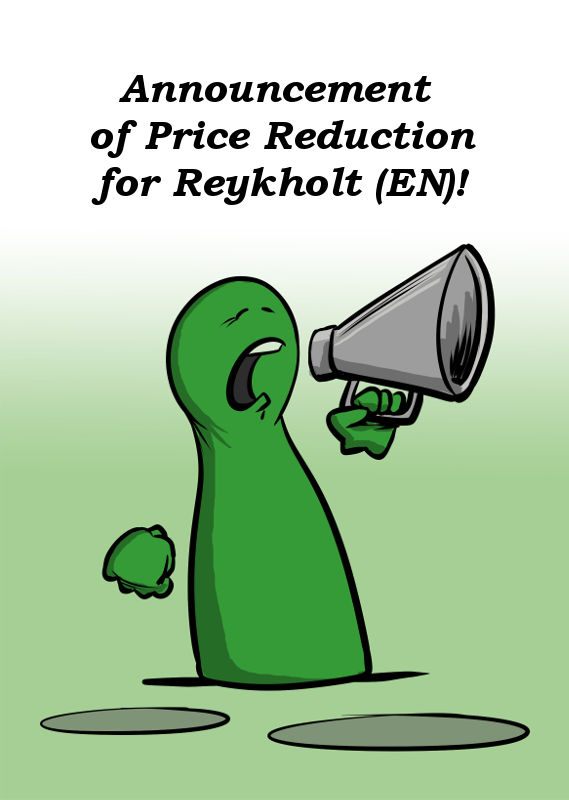 ANNOUNCEMENT OF PRICE REDUCTION FOR REYKHOLT (EN)