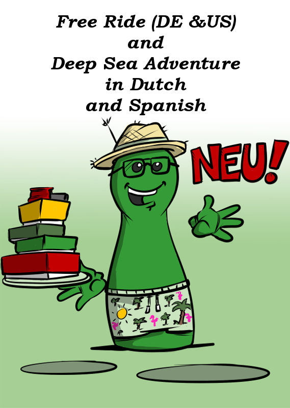 NEW: FREE RIDE AND DEEP SEA ADVENTURE IN DUTCH AND SPANISH