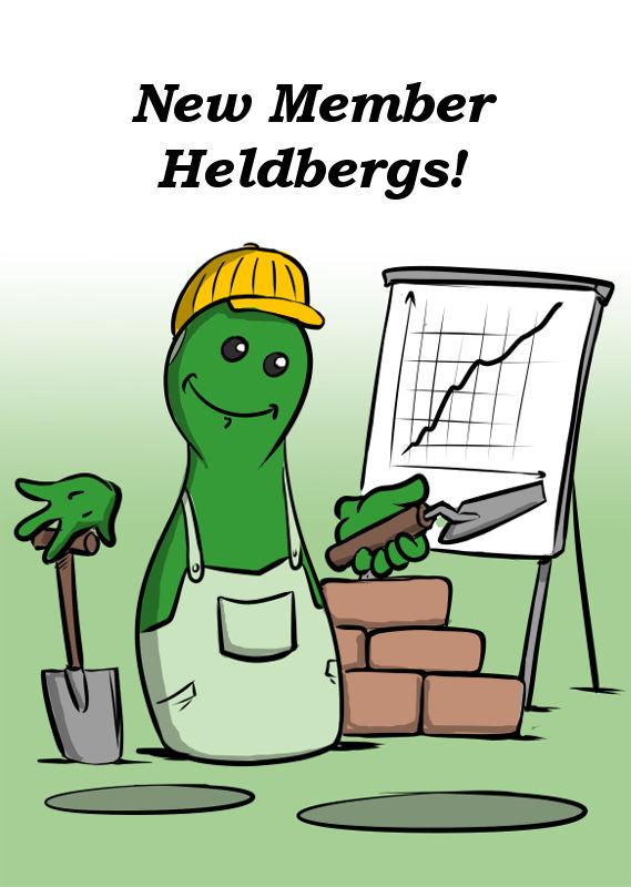 NEW MEMBER HELDBERGS