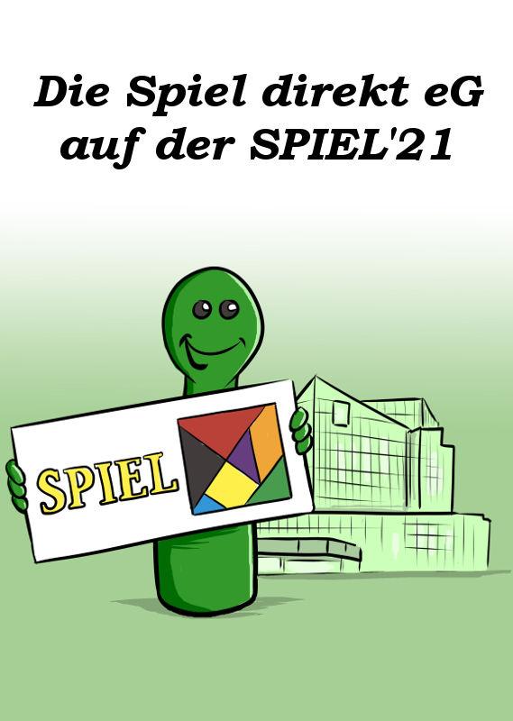 DIE SPIEL DIREKT EG AUF DER SPIEL'21