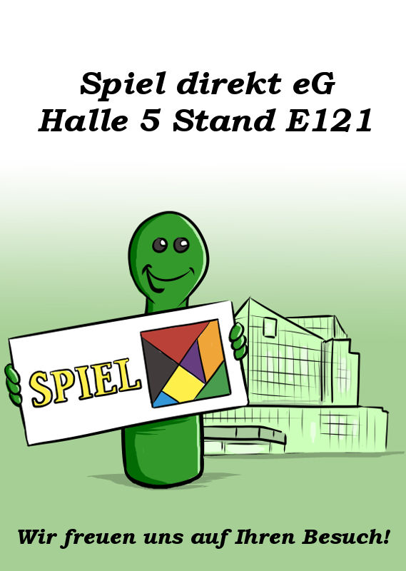 SPIEL DIREKT EG HALLE 5 STAND E121