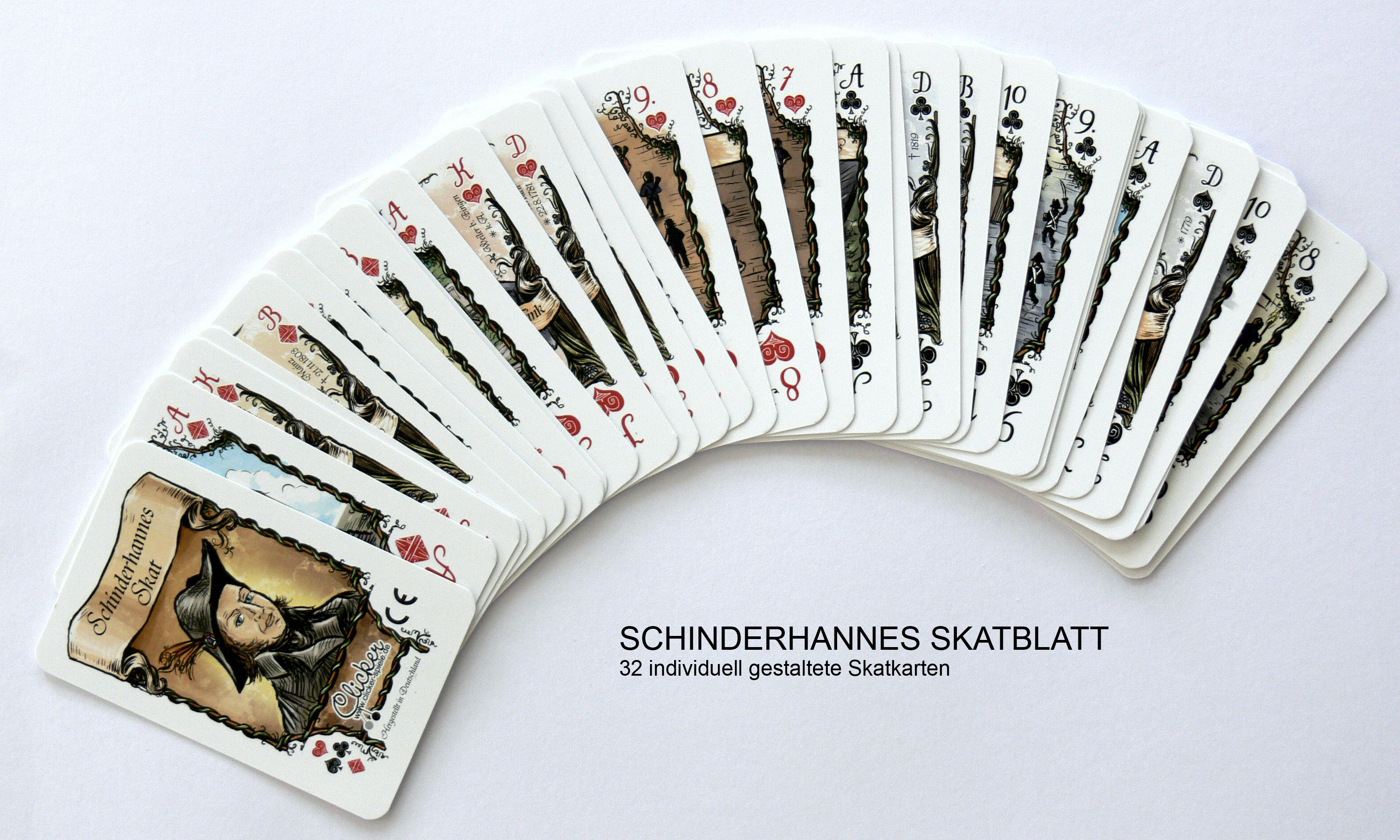 Schinderhannes PLaying Cards