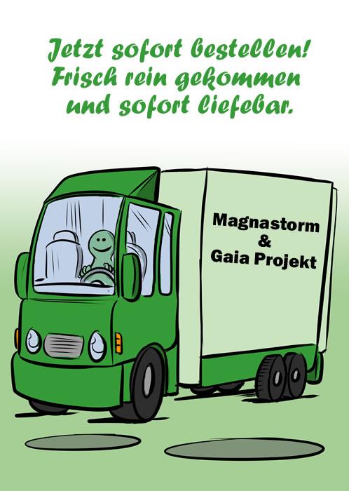 MAGNASTORM & GAIA PROJEKT